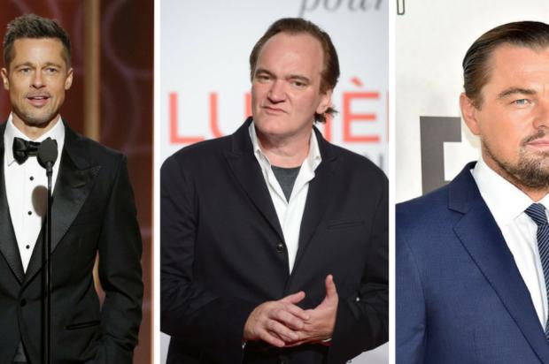 Leonardo DiCaprio y Brad Pitt juntos en el nuevo film de Tarantino