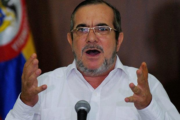 Las Farc podrían cambiar de candidato presidencial