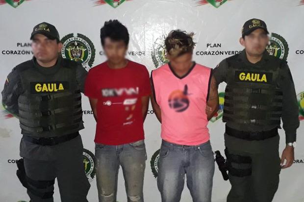 Policía captura a extorsionistas en Granada, Meta