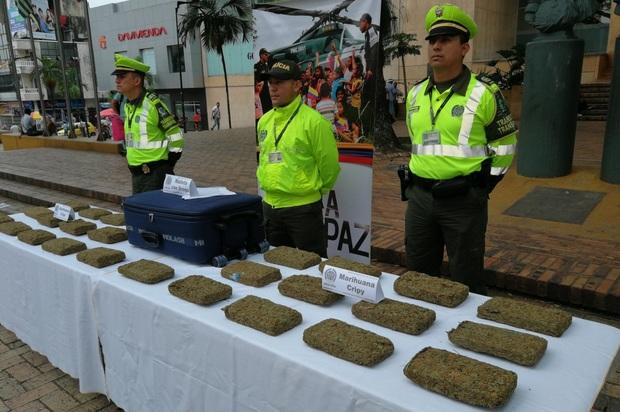 Hallados 13 kilos de marihuana que se dirigían a San José del Guaviare