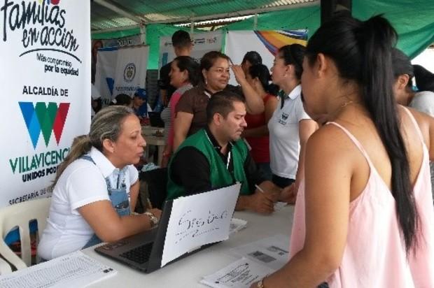 Atención a la población víctima del conflicto armado  en la Comuna 8