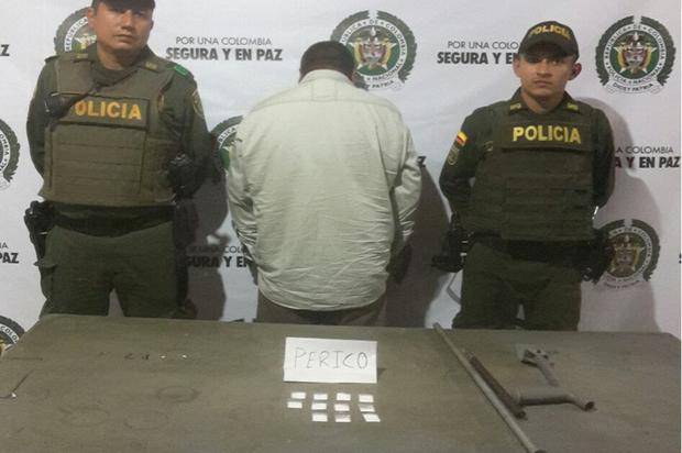 Capturado en San Martín discapacitado que traficaba drogas