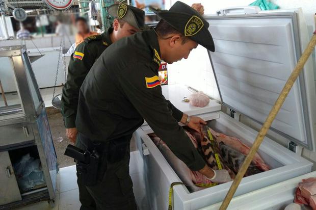 Policía lidera controles en la venta del pescado en el Meta