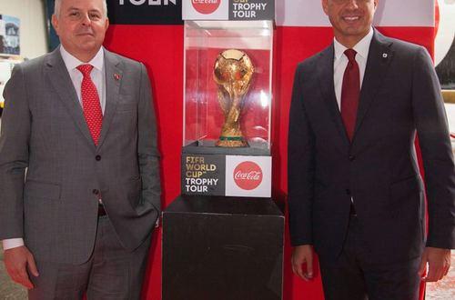 El Trofeo de la Copa Mundo Rusia 2018 estará en Colombia