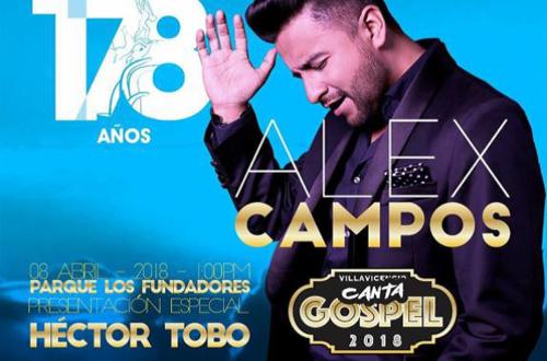 Con música góspel se cerrará el aniversario 178 de Villavicencio
