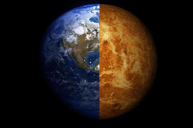 Posible vida en la atmósfera de Venus