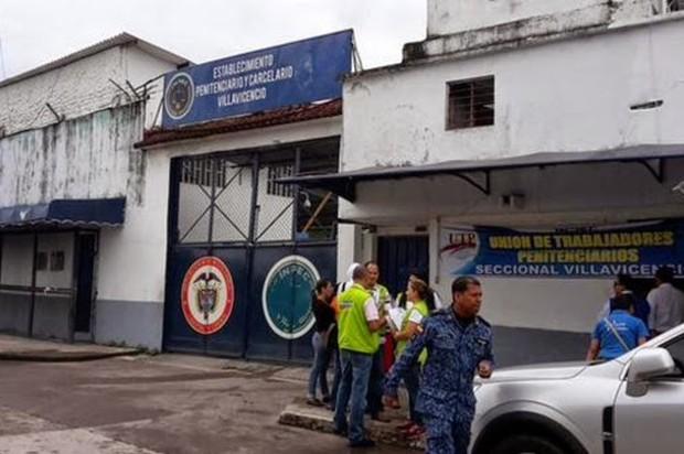 Cierre total y temporal en la Cárcel de Villavicencio