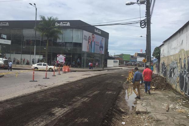 Inicia fase de recuperación vial en el sector Parque de Los Estudiantes