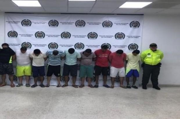 Capturados 9 hombres acusados de abuso sexual a menores de edad