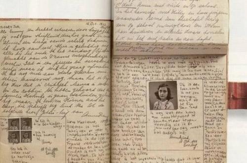 ¡Páginas inéditas del diario de Ana Frank!