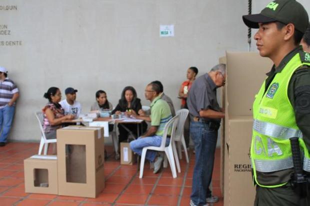 La Policía Departamental esta lista para las elecciones presidenciales.
