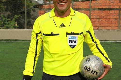 Silbato metense pitará la final del futsal colombiano