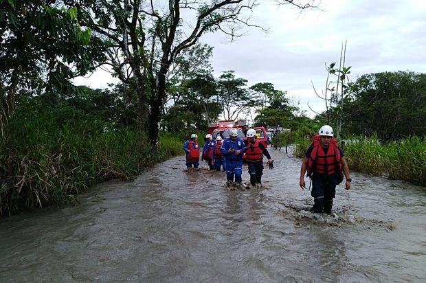 Sigue la ayuda humanitaria por temporada de lluvias en el Meta