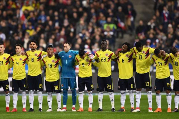 Los 23 de Colombia para el mundial de Rusia