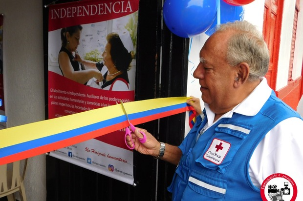 Cruz Roja Meta inaugura nueva sede en municipio de Restrepo