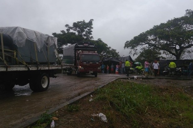 Se levanta bloqueo en la vía Meta - San José del Guaviare
