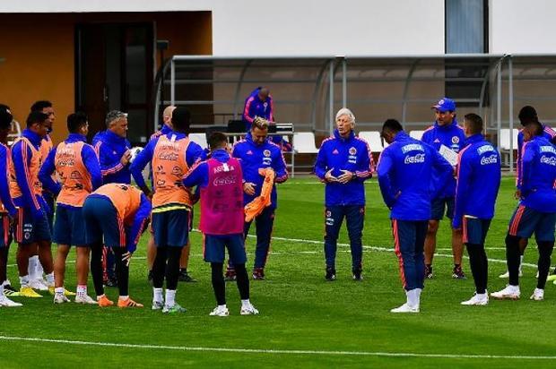 La Selección Colombia a está en Saransk para enfrentar a Japón