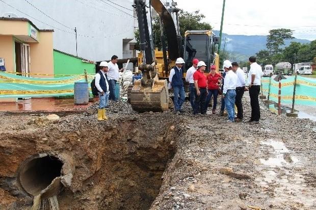 Inician obras de alcantarillado y pluvial en Granada y Cabuyaro