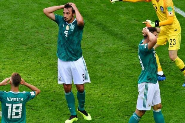 Sorpresa mundialista, Alemania eliminada de Rusia 2018