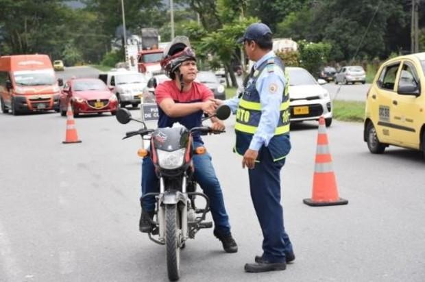 Balance positivo dejaron controles de tránsito en Villavicencio