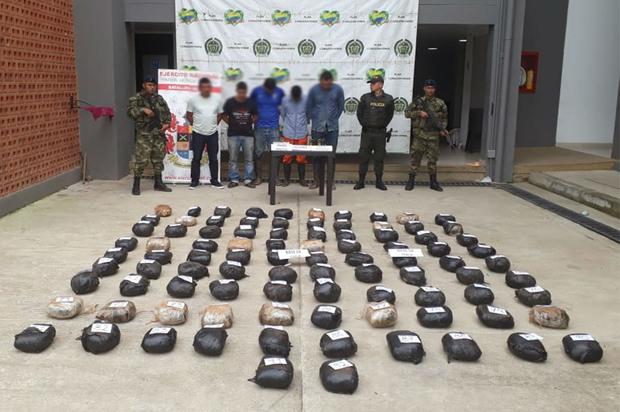 Policía y Ejército golpean tráfico local de estupefacientes en el Meta