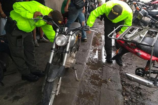 Recuperadas 11 motocicletas y tres automotores en Granada, Meta