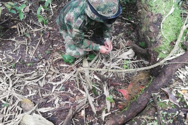 Se han destruido al rededor de 280 artefactos explosivos