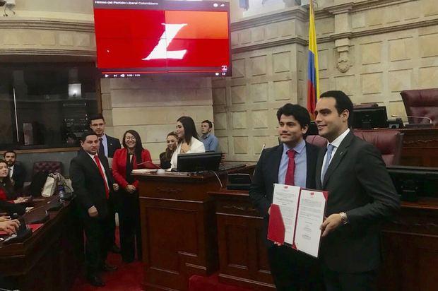 Alejandro Vega se ubicó en la Comisión Primera