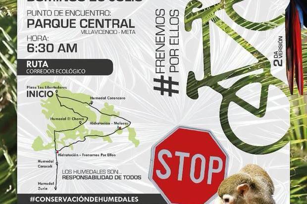 Este domingo ¡A rodar por lo silvestre en Villavicencio!