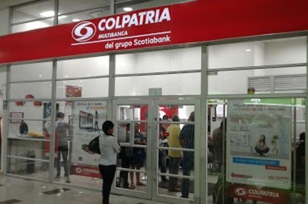 Hurto a banco Colpatria de Llanocentro