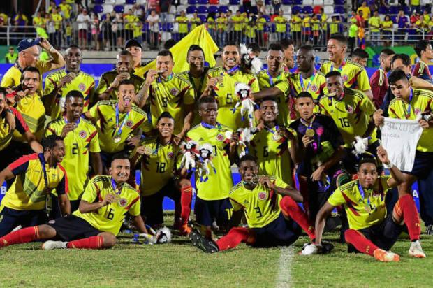 La selección Colombia sub-21 se bañó de Oro en los Centroamericanos