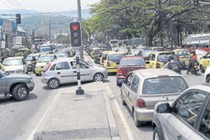 Villavicencio se está quedando pequeña para tanto carro