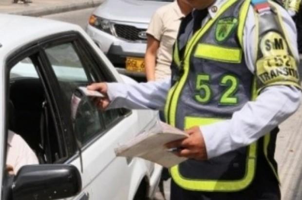 Investigado Agente de Tránsito por presuntas irregularidades