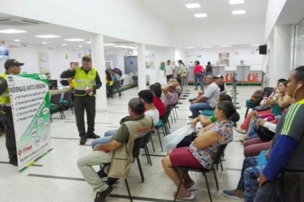Se reforzará seguridad en bancos de Villavicencio