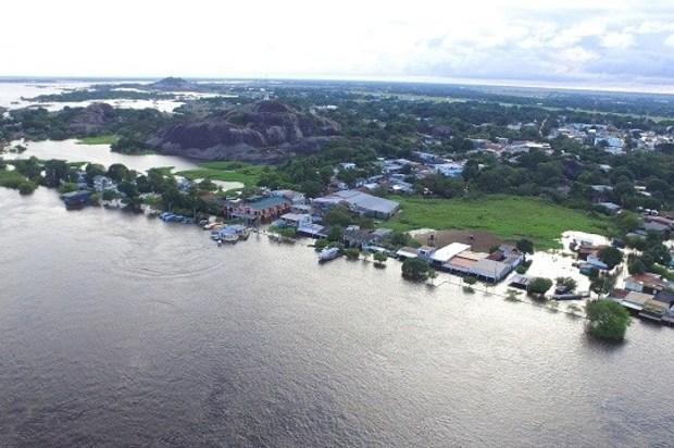 Inundado más del 70% de Puerto Carreño, Vichada