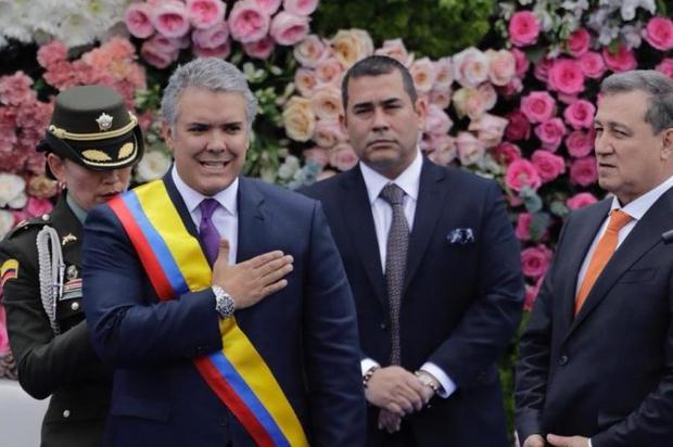 Iván Duque se posesiona como nuevo presidente de Colombia