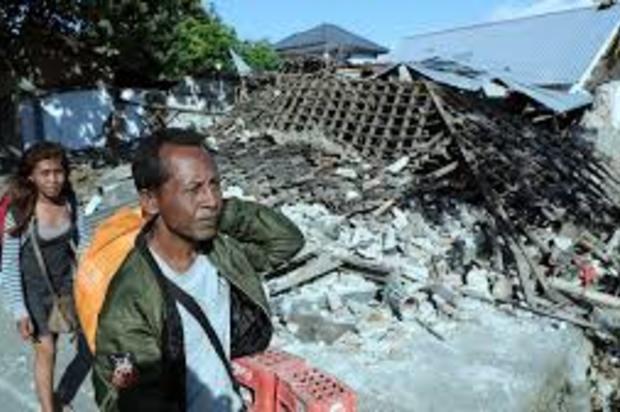 Terremoto de magnitud 5,9 golpea de nuevo la isla indonesia de Lombok
