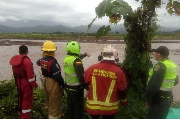 Una persona desaparecida en el río Guatiquía