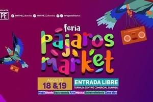 Primer Feria de emprendedores para futuros empresarios PAJAROS MARKET