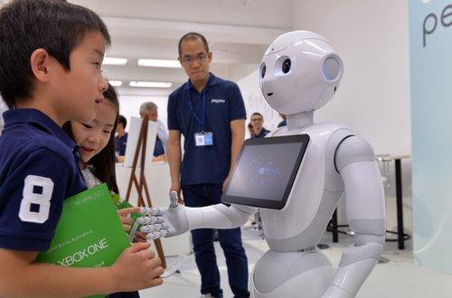 Robots profesores de inglés darán clase en 2019 en Japón