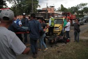 Aumentó la accidentalidad vial en Villavicencio