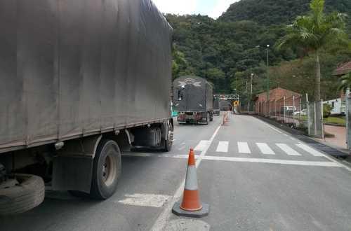 Así se dio inicio a la movilidad en la vía Bogotá-Villavicencio
