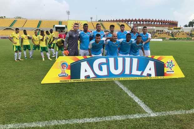 Llaneros F.C  empató ante el Real Cartagena