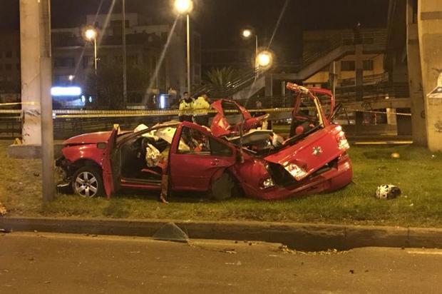 Fatal accidente dejó 3 muertos  en el norte de Bogotá