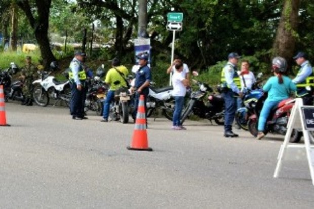 Agresión contra agente de tránsito en Villavicencio
