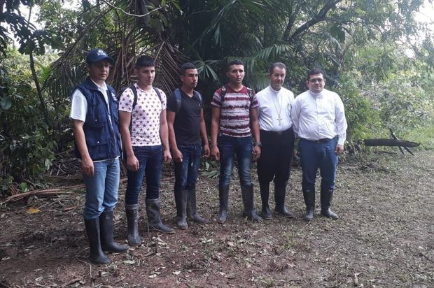ELN liberó a los tres militares secuestrados