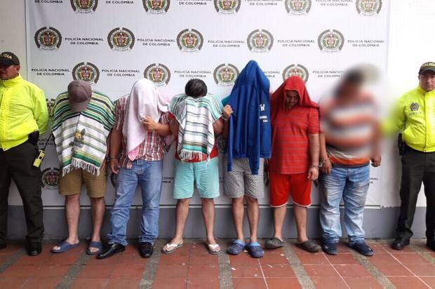 Capturados en Villavicencio seis presuntos abusadores sexuales