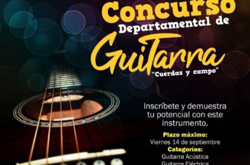 Concurso Deptal. de Guitarra en la Central de Abastos de Villavicencio