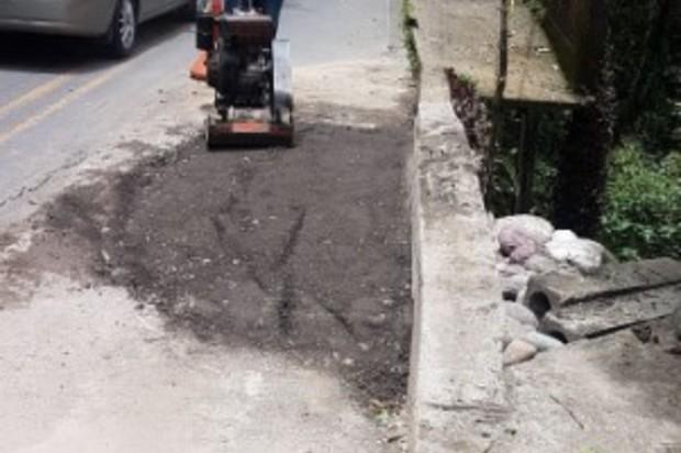 Avanzan arreglos de vías en Villavicencio