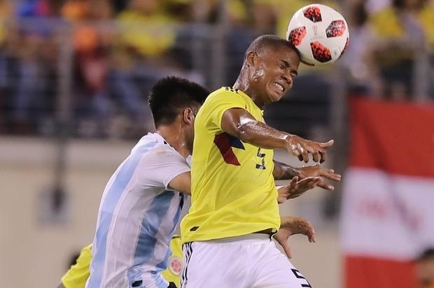 Colombia y Argentina empataron sin goles